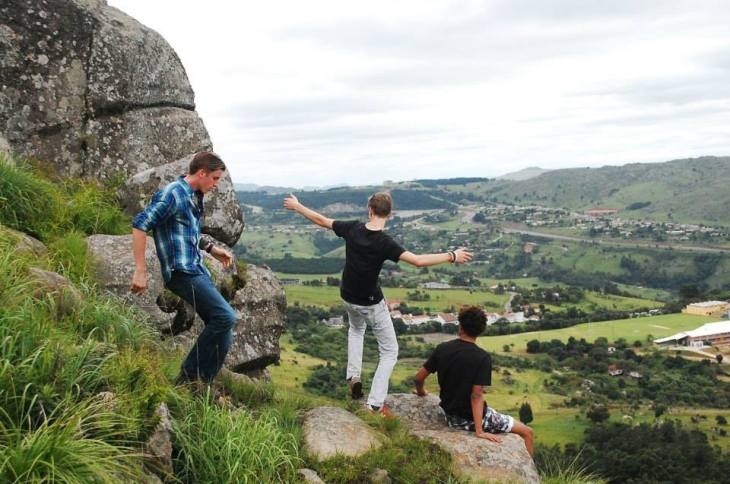 Waterford berg beklimmen